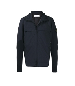 Stone Island - Giubbotti - soft shell-r with primaloft insulation blu