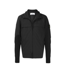 Stone Island - Giubbotti - soft shell-r with primaloft insulation nero