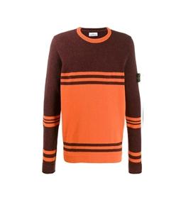 Stone Island - Maglie - maglia girocollo arancio