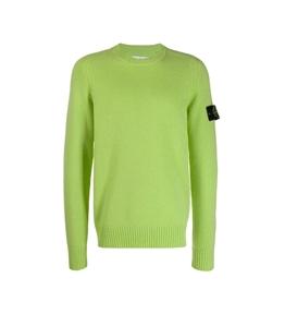 Stone Island - Maglie - maglia in lana girocollo pistacchio