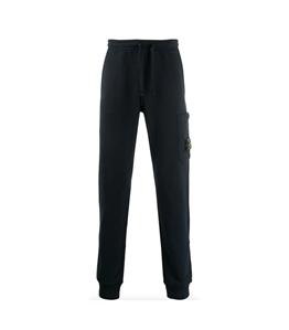 Stone Island - Pantaloni - pantalone in felpa blu