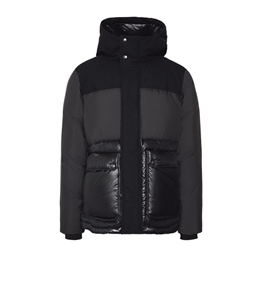 Woolrich - Giubbotti - intarsia mountain jacket black