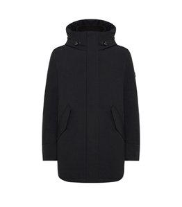 Woolrich - Giubbotti - stretch mountain parka black