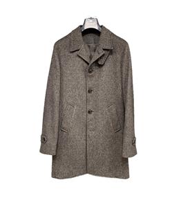 Barbati - Cappotto - cappotto grigio microfantasia