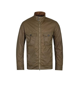 Barbour - Giubbotti - giacca weldon wax marrone