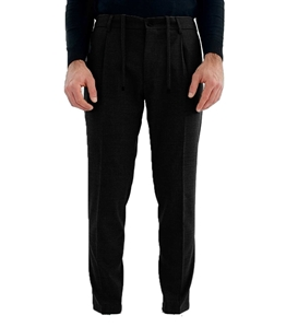 Be Able - Pantaloni - pantalone tasca america con pinces e coulisse nero
