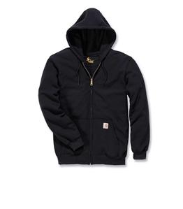 Carhartt US - Felpe - felpa midweight con zip nera