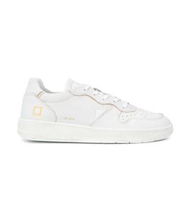 D.A.T.E. - Scarpe - Sneakers - court mono bianca