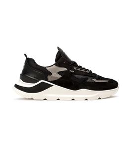 D.A.T.E. - Scarpe - Sneakers - fuga mesh nera