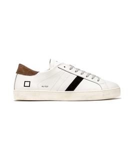 D.A.T.E. - Scarpe - Sneakers - hill low calf bianca-t.moro