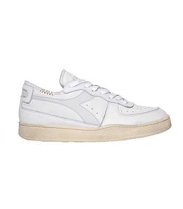 Diadora Heritage - Scarpe - Sneakers - mi basket row cut bianca