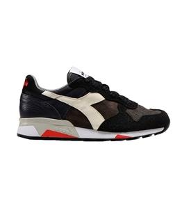Diadora Heritage - Scarpe - Sneakers - trident 90 leather nera