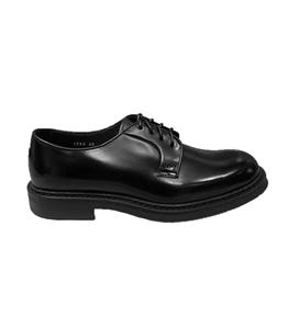 Doucal's - Scarpe - Sneakers - stringata a punta tonda nera