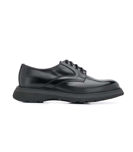 Doucal's - Scarpe - Sneakers - derby stringata nera