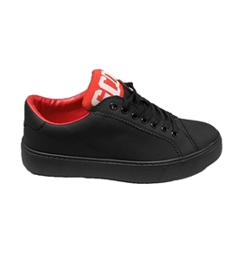 GCDS - Scarpe - Sneakers - band logo sneakers nera