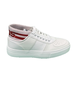 GCDS - Scarpe - Sneakers - bomber sneakers bianca-rossa
