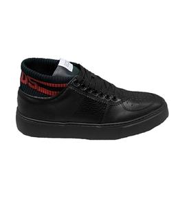 GCDS - Scarpe - Sneakers - bomber sneakers nera-rossa