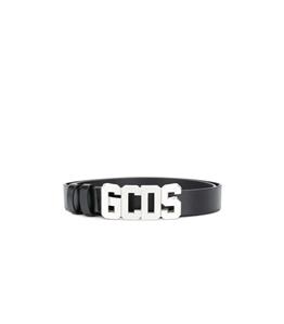 GCDS - Cinture - cintura nera-argento