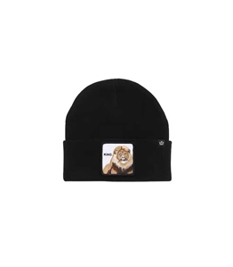 "Goorin Bros - Cappelli - beanie ""hear me roar"" king nero"