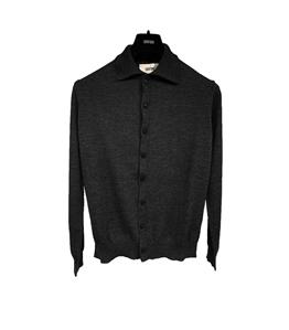 Grifoni - Camicie - camicia in maglia nera