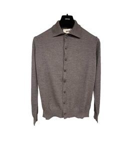 Grifoni - Camicie - camicia in maglia grigia