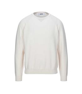 Grifoni - Maglie - maglia girocollo manica lunga avorio