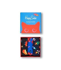 Happy Socks - Calze - calzini outer space confezione regalo 3 paia