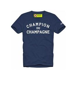 Mc2 Saint Barth - T-Shirt - t-shirt blu champagne & montagne