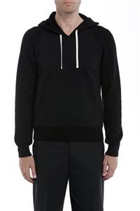 Paolo Pecora - Maglie - maglia con cappuccio nera