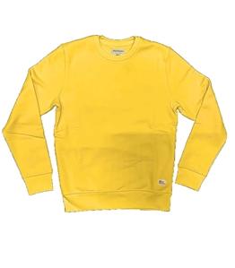 Roy Roger's - Felpe - felpa girocollo manica lunga gialla