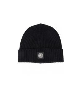 Stone Island - Cappelli - berretto coste nero