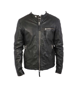 The Jack Leathers - Giubbotti - giacca in pelle bandit nera