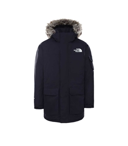 The North Face - Giubbotti - parka mcmurdo blu navy