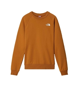 The North Face - Felpe - felpa a maniche raglan redbox kaki
