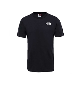 The North Face - T-Shirt - t-shirt simple dome nera