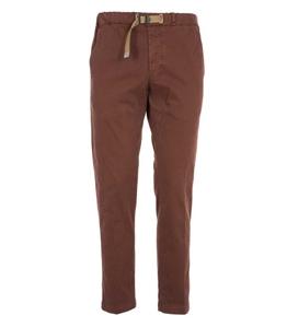 White Sand - Pantaloni - pantaloni carrot cotone smerigliato ruggine