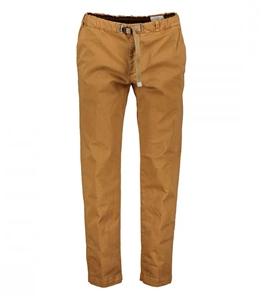 White Sand - Pantaloni - pantaloni carrot cotone smerigliato corteccia