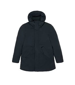 Woolrich - Giubbotti - stretch mountain parka blu