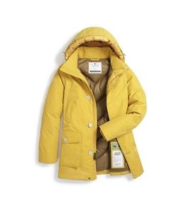 Woolrich - Giubbotti - eco byrd cloth arctic parka giallo