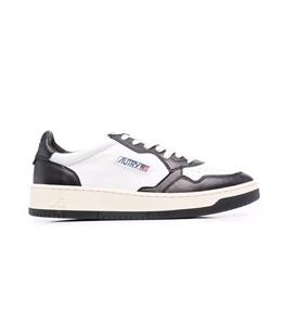 Autry - Scarpe - Sneakers - autry sneakers medalist low in pelle bianco nero