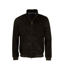 Barbour - Giubbotti - jacket cord royston casual verde olive