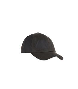 Barbour - Cappelli - cappello wax sports cap oliva
