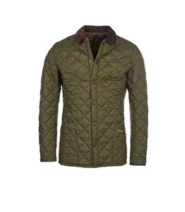 Barbour - Giubbotti - giacca trapuntata heritage liddesdale verde olive