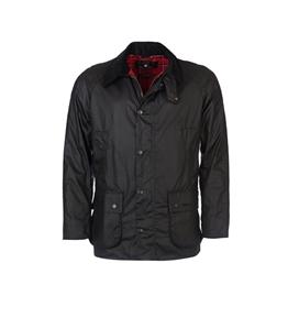 Barbour - Giubbotti - giacca cera ashby nera