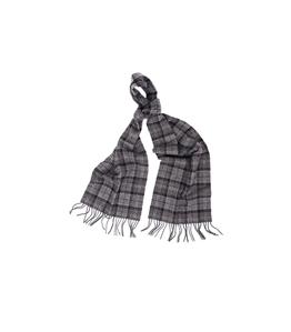 Barbour - Sciarpa - sciarpa in lana tartan grigio nero