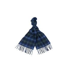 Barbour - Sciarpa - sciarpa in lana tartan blu verde