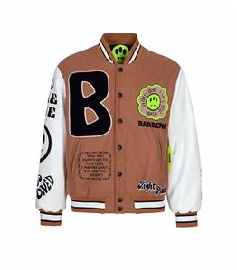 Barrow - Giubbotti - college jacket fango