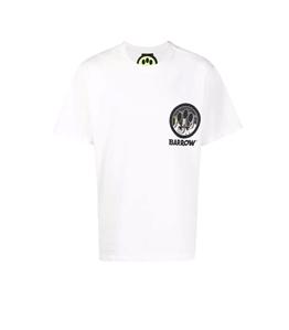 Barrow - T-Shirt - t-shirt in jersey con stampa bianca