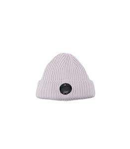 C.P. COMPANY - Cappelli - extra fine merino wool beanie sandshell