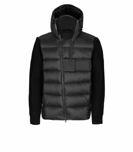 C.P. COMPANY - Giubbotti - metropolis series lambswool/nyl jacket nero